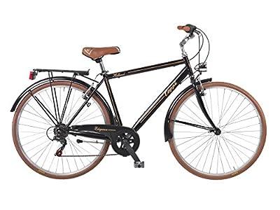 28' Zoll Coppi Fahrrad Herrenrad Trekkingrad 'retro' Herren Bike Schwarz