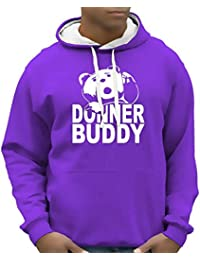 DONNER BUDDY THUNDER SONG TEDDY fuck you thunder Sweatshirt mit Kapuze - div. Farben Gr.S M L XL