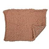 Handgestrickte Decke Klimaanlage Sofa verdicken Teppich, manuelle Arm stricken häkeln Twisted Wolldecke