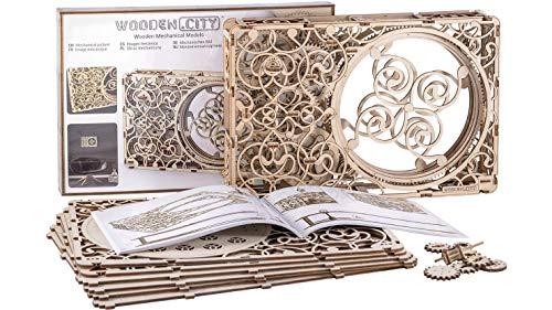 Puzzle 3D Mécanique Modèle en Bois Mechanical Picture by Wooden.City | Maquette mécanique à Construire en 3D
