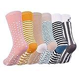 Vbiger 6 Paar Kleinkind Jungen &Mädchen Baumwolle Socken Dicken Winter Socken Kniehohe Socken Rutschfeste Strümpfe im Alter von 0-4 Jahren,Weihnachtsgeschenk