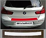 is-tuning passgenau für BMW 1er F20, F21, ab 2015, Lackschutzfolie Ladekantenschutz transparent