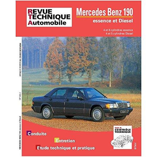 Rta 465.4 Mercedes-benz 190 essence et Diesel