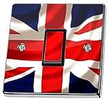 Union Jack UK Britische Flagge Lichtschalter-Sticker, haut von Lichtschalter CO