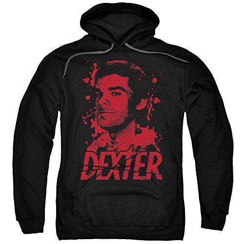 Dexter-, nato nel sangue-Felpa con cappuccio Nero