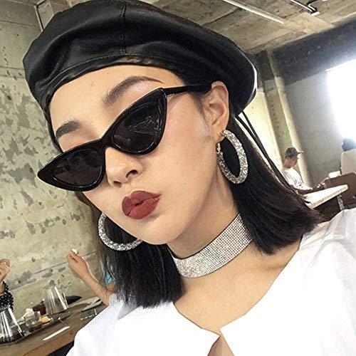 Han Ban Chao beleben alte Bräuche weiblicher Euroamerikaner Straße der ursprünglichen Nachtkatzenauge-Sonnenbrille Wieder, um eine Schwarze Sonnenspiegelfrau ins Glas zu klatschen