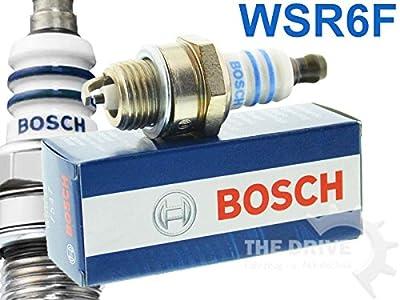BOSCH BLAU Zündkerze WSR6F 7547 0242240506-879 von BOSCH