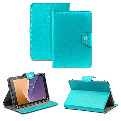 Tablet Tasche für Vodafone Tab Prime 6 / 7 Schutzhülle Hülle Case Schutz Cover , Farben:Türkis