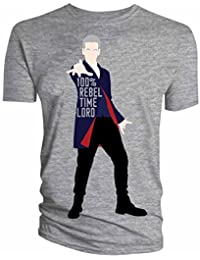 Official Doctor Who 12th Doctor Vector Adult T-Shirt