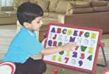 #8: ABCD And 123 Sequencer Board, Chalk Board, 2 In One Educational Toy (Age 2+)