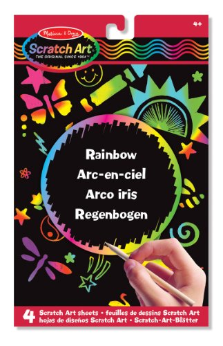 Melissa & Doug Scratch Art Regenbogen