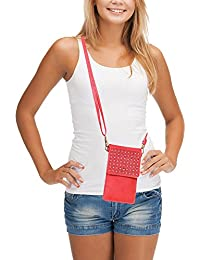 Cell Phone Bag, AnsTOP Mini Crossbody Bag Phone Pouch Small Shoulder Bag With Shoulder Strap For Women