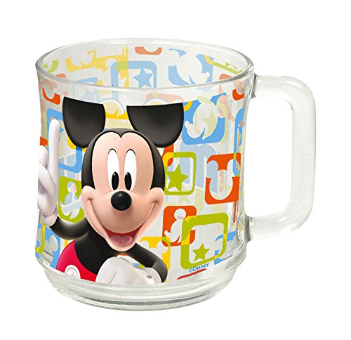 Tasse AUSWAHL Kaffeetasse Tasse Kaffeebecher Becher Glas Micky Maus Minnie Maus Paw Patrol Spiderman (Mickey Maus)