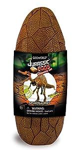 Geoworld Jurassic Eggs CL196K - Huevo con Esqueleto de Spinosaurus para Montar