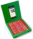 Caja golosinas Whatsapp 23x23cm con mensaje personalizado, su interior contiene 750g...