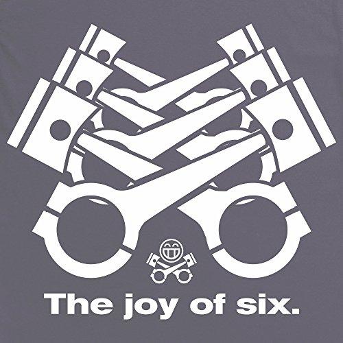 The Joy Of Six T-Shirt, Damen Anthrazit