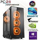 PC24 GAMER PC | INTEL i7-8700K @6x4,50GHz Coffee Lake | nVidia GF GTX 1070 mit 8GB RAM | 16GB DDR4 PC2133 RAM G.Skill | Gigabyte Z370 AORUS Ultra Gaming Mainboard | Windows 10 Pro | i7 Gaming PC