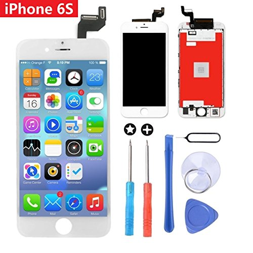 483664319bd Brinonac LCD 3D Touch Screen Digitizer Frame Assembly Completo Set Screen  Replacement con Herramientas para iPhone