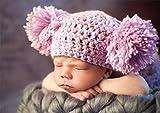 Unbekannt Puzzle 500 Teile -  Warm und Gemütlich  - Mädchen als Baby schlafend - Neugeborene - zur Geburt - Babymotiv niedlich Kleinkind Kinder