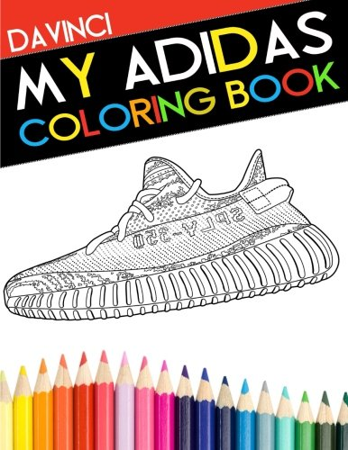 My Adidas Coloring Book por Davinci