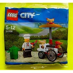 Lego, 30356, carretto dell'hot dog in sacchettino di plastica 5702016122671 LEGO