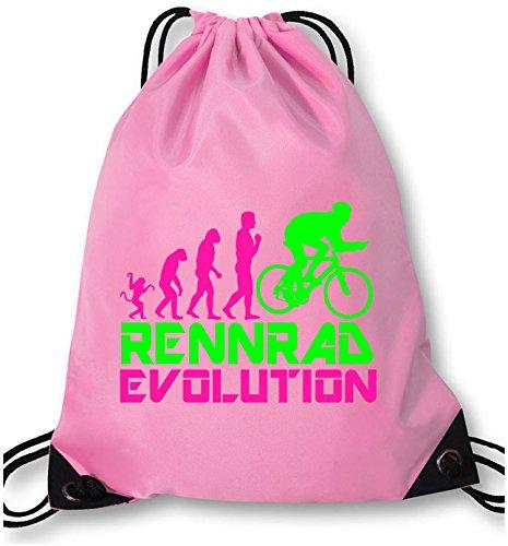 EZYshirt Rennrad Evolution Turnbeutel