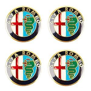SFONIA 4 x 56,5 mm Felgen-Aufkleber für Alfa Romeo