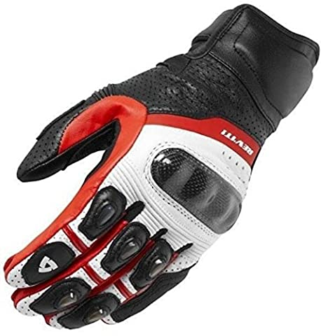 Downhill Gloves Fox Motorcycle / Bicycle Fitness Men's Ladies Fur and Leather , red , xl