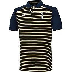Tottenham Hotspur Spurs under armour para hombre oro azul marino Polo para hombre 2016–17, hombre, Navy Blue, Gold