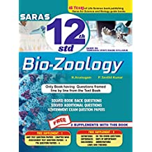 Saras 12th / +2 Bio Zoology Line by Line Solved Questions - Exam Guide - EM - Tamilnadu State Board