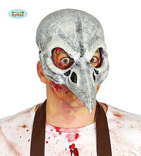 Fiestas Guirca GUI2561 - Halb-Maske Vogel Latex (Maske Halloween Halb)