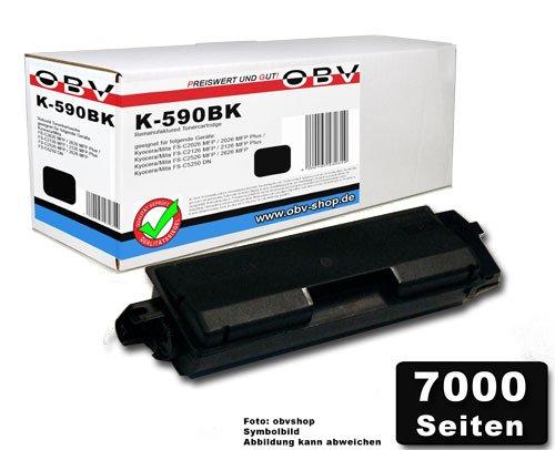 Preisvergleich Produktbild Kompatibler Toner ersetzt Kyocera 1T02KV0NL0 / TK-590K schwarz 7000 Seiten