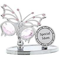 Crystocraft 'Special Mum' Swarovski Elements Butterfly Design Mum Gift