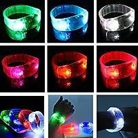 Bazaar LED Sport Radfahren Überleben Licht Voice Activated Armband Handgelenk Band Blinker