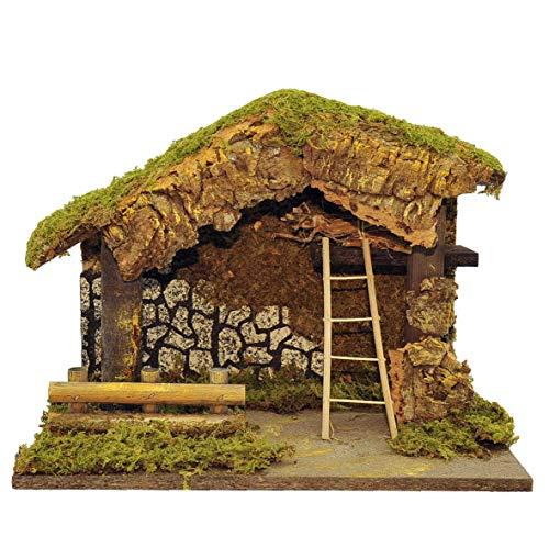 Rossi Rosa Art Code-11155AG Hütte leer, 33 x 18 x 23 cm, Mehrfarbig, Einheitsgröße
