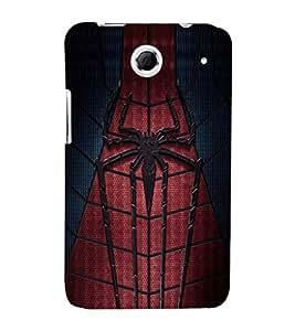 EPICCASE spider man Mobile Back Case Cover For Lenovo S880 (Designer Case)