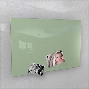pink//rosa, 50 x 110 cm in 4 Verschiedene Gr/ö/ßen und 18 Colours-Manufaktur Magnettafel inkl Magnete