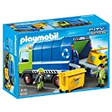 Playmobil City Action City Cleaning Recycling Truck