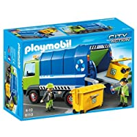 Playmobil 6110 City Action City Cleaning Recycling Truck