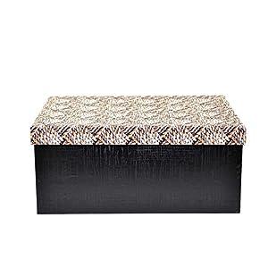Gifts 4 All Occasions Limited SHATCHI-1303 - Cajas de almacenamiento con tapa de Shatchi (10 unidades), diseño de Navidad, multicolor