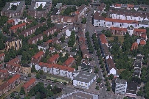 MF Matthias Friedel - Luftbildfotografie Luftbild von Drosselstraße in Hamburg (Hamburg), aufgenommen am 30.07.99 um 12:22 Uhr, Bildnummer: 0774-15, Auflösung: 3000x2000px = 6MP - Fotoabzug 50x75cm