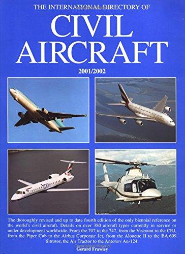 The International Directory of Civil Aircraft: 2001/2002 par Gerard Frawley
