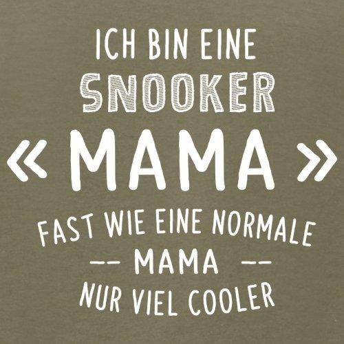 Ich bin eine Snooker Mama - Herren T-Shirt - 13 Farben Khaki