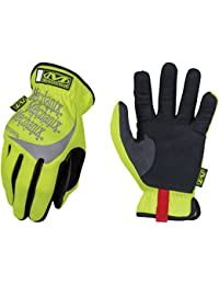 Mechanix Wear - Fastfit Guanti, Giallo Fluorescente, Large