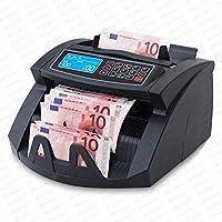 Contadora de billetes SR-3750 UV -MG- IR - Securina24® (negro - LCD)
