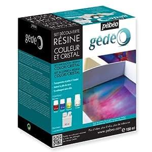 Set découverte Résine Couleur et Cristal 150 ml