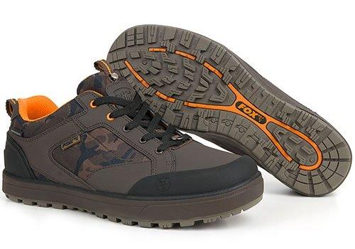 Fox Chunk Camo Trainers Schuhe Angelschuhe, Schuhe zum Angeln, Anglerschuhe, Schuhgröße:Gr. 44 / 10