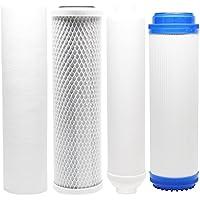 Kit de filtro de repuesto para maxwater 101087Ro sistema–incluye filtro de bloque de carbón, PP filtro de sedimentos, GAC Filtro en línea filtro cartucho láser–Denali Pure marca