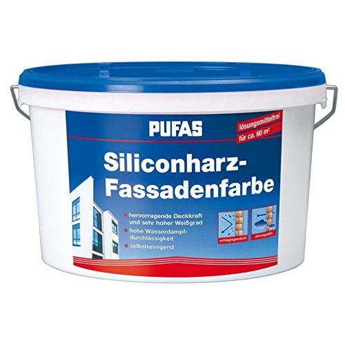 Pufas Siliconharzfassadenfarbe 10 Liter