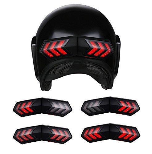 Luces para casco de moto Alamor 12V inalámbrico